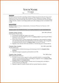 good example of a resume sample resume template free resume
