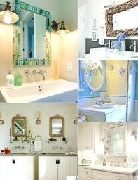 Beachy Bathroom Mirrors by Wall Mirror Coastal Style Wall Mirrors Coastal Style Bathroom