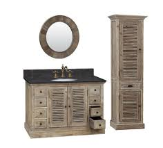 Rustic Bathroom Vanity Cabinets by Legion 48 Inch Rustic Single Sink Bathroom Vanity Wk1948 Marble Top