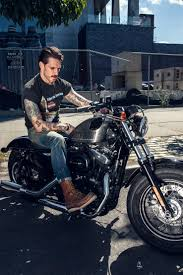 cruiser style motorcycle boots bbny barber rob mcmillen featured in antenna magazine custom