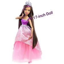 17 barbie princess doll hairstyling accessories dpr99