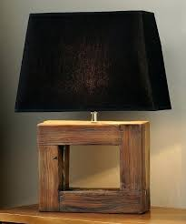 best wood lamps ideas on wooden lamp rustic home decor collections