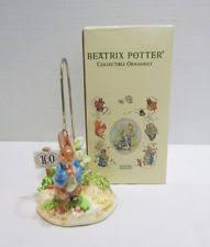 schmid beatrix potter ornaments ebay