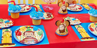 Curious George Party Supplies Kids Party Supplies
