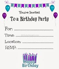 40th birthday invitations templates free free printable