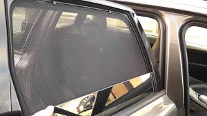 Car Window Blinds Baby Volo Sun Shades Curtains Youtube