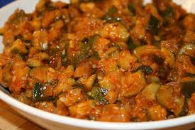 recette de cuisine avec des courgettes courgettes à la tomate la cuisine de dali