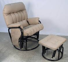awesome swivel chair with ottoman for modern chair design with