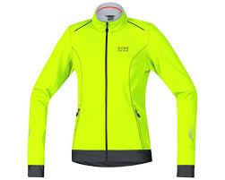 bike wear gore bike wear element lady windstopper soft shell jacket neon