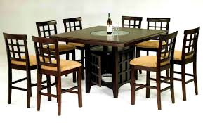 furniture charming nice dining bar table height square seats