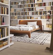 library bedroom bedrooms bookshelves 22 inspirational examples for those who love