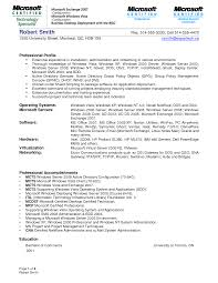 Resume Reimage Repair Windows System Administrator Resume Examples Resume For Your Job