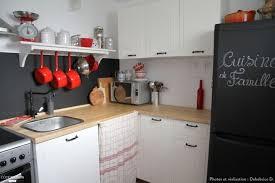 ma ptite cuisine une cuisine ambiance rustique chic avec meuble blanc plan de