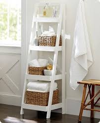 Diy Ladder Bookshelf Diy Ladder Shelf For The Patio