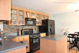 Kitchen Cabinets No Doors And So It Begins Painting My Kitchen Cabinets How To Nest For Less