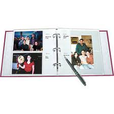 photo album with memo space album refill pages b h photo