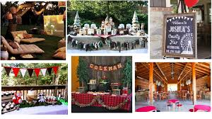 Backyard Themes 10 Rustic Kids Birthday Party Ideas Rustic Baby Chic