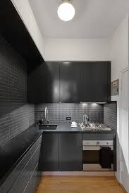 black kitchen cabinets in a small kitchen ikea small kitchen ideas popsugar home