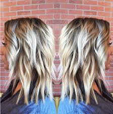 pics of platnium an brown hair styles 10 medium length styles perfect for thin hair popular haircuts