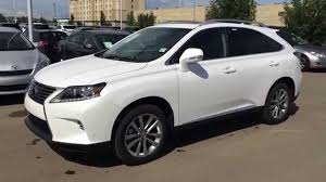 lexus rx 350 price 2015 2015 lexus rx 350 awd touring package review in white westend