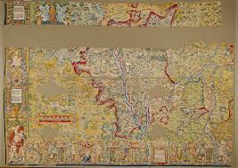 Map Tapestry The Sheldon Tapestry And The Weston Library Bodleian Map Room Blog
