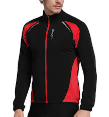 thermal cycling jacket men s full zip long sleeve thermal cycling jersey windproof jacket