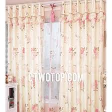 Country Porch Curtains Cheap Unique Beige And Pink Acoustical Floral Country Porch