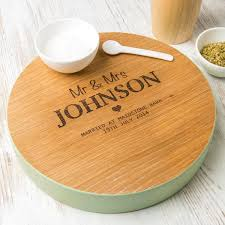 Wooden Wedding Gifts Personalised Cheese Boards Unique Gifts Uk Dust And Things