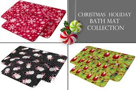 Christmas Rug Roll Over Image To Zoom In Christmas Bath Mat Memory Foam Rug Pvc