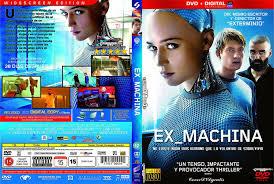 ex machina 2015 cover dvd archivos coverdvdgratis