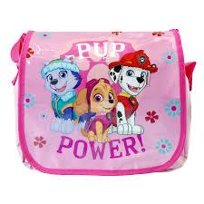 paw patrol pup power messenger crossbody bag kids nursery