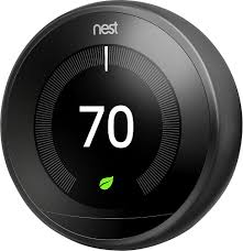 nest protect black friday nest learning thermostat 3rd generation black t3016us best buy