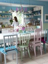 cuisine pastel l inspiration des meubles peints couleurs pastel