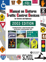 manual on uniform traffic control devices mutcd for streets and