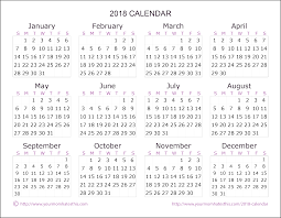 Calendar 2018 Ai Template Templates Hub Printable Calendar 2018 Template