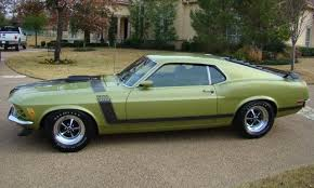 Black And Lime Green Mustang 1970 Mustang Boss