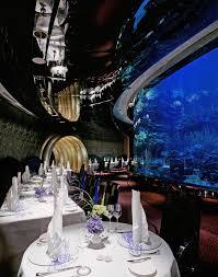 united arab emirates burj al arab aquarium restaurant