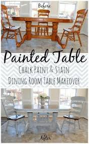 chalk paint grandma u0027s antique dining table and chairs antique