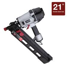 Central Pneumatic Framing Nail Gun by Husky Pneumatic 3 1 2 In 21 Degree Full Head Strip Framing Nailer