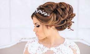 wedding hair with headband wedding hairstyles ideas curly half up wedding hairstyles