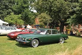 1976 jaguar xj6 at the pittsburgh vintage grand prix car show