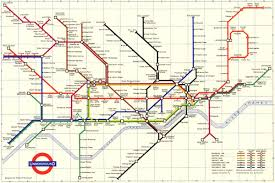 Underground Map London Underground Maps Show Evolution Of The Tube Over The Last