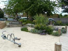 king george v playing field natural playscape london uk the