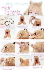 hair styles with your ears cut out best 25 kawaii hairstyles ideas on pinterest diy cat ears