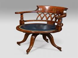 Antique Swivel Office Chair by Antique Oak Bookcases Vintage Wooden Swivel Office Chair Antique