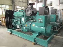 313kva 250kw open diesel generator cummins nta855 g1a 50hz