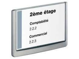 plaque porte bureau plaque de porte 210x148 5mm click sign contact mon bureau et moi