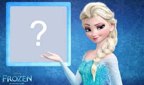 frozen photo frame princess elsa