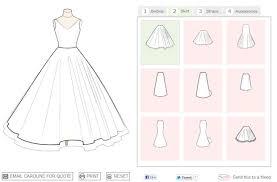 design a wedding dress app