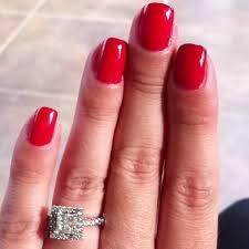 strawberry margarita and cajun shrimp opi gel nails beauty
